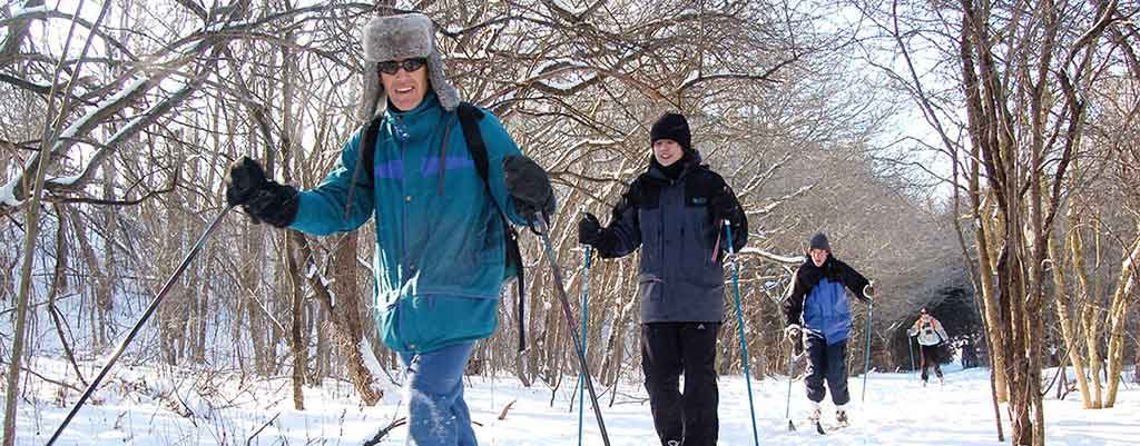 nordic skiing in brantford