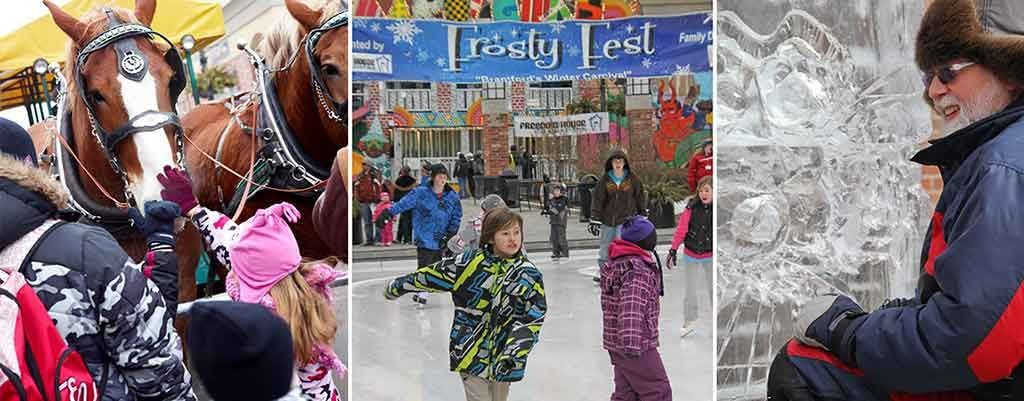 frosty fest in harmony swuare brantford