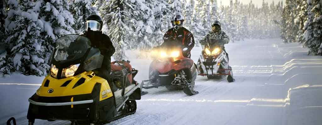 snowmobile trails in use in brant county