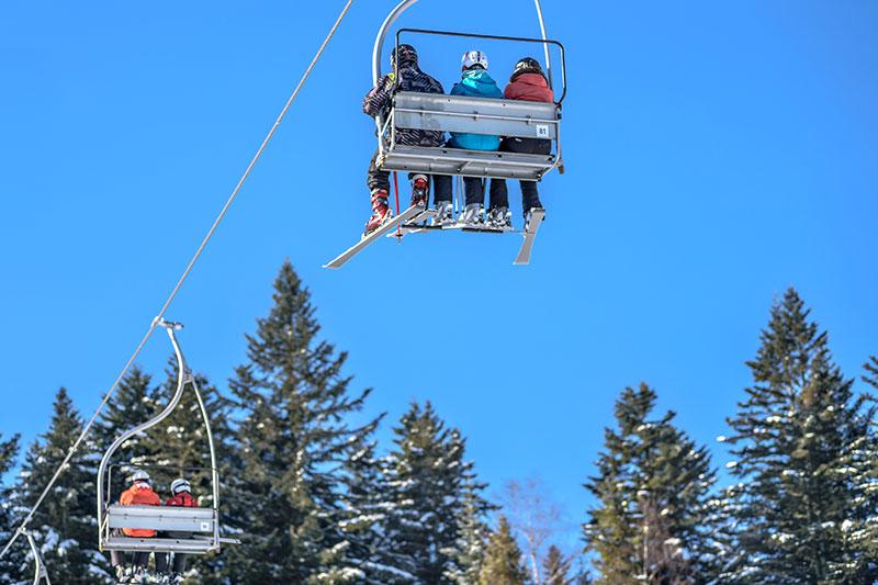 skiing and outdoor activities in brantford