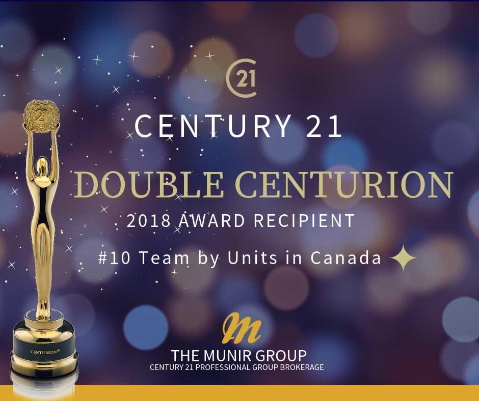 best realtors in brantford double centurion award