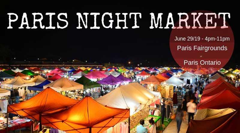 paris night market 2019