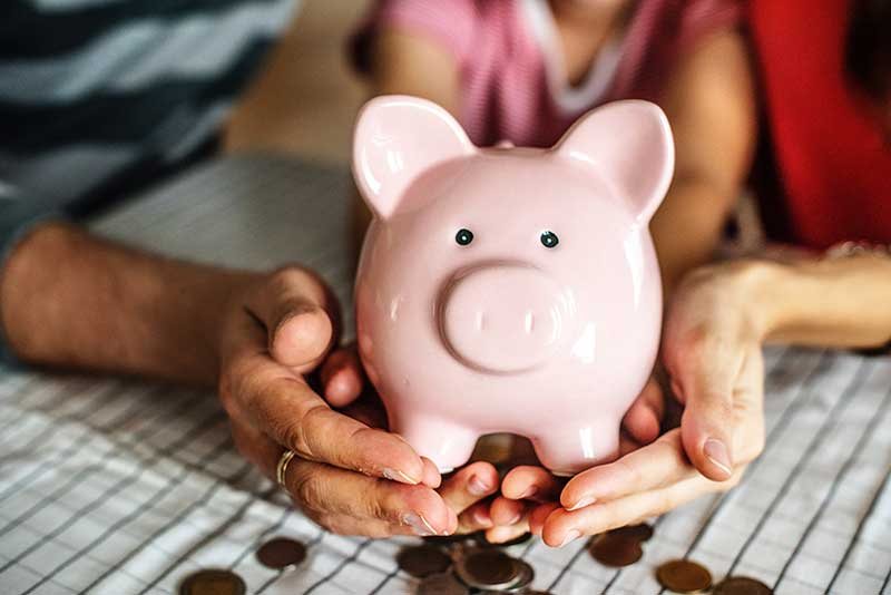 piggy bank savings for your first home in brantford