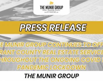 THE MUNIR GROUP APRIL 2021 PRESS RELEASE